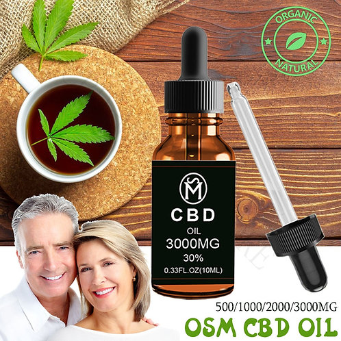 100% Strong and Effective CBD Hemp Essential Oil Drop for Chronic Pain