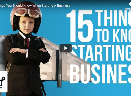 15 Things You Should Know When Starting A Business