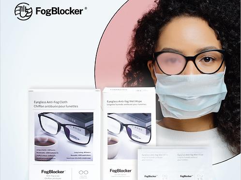FogBlocker Anti-Fog Dry Wipes