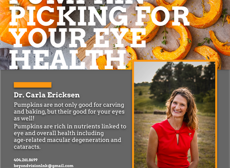 Pumpkin Picking For Your Eye Health