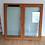 Thumbnail: Fenêtres double en bois exotique AVEC SON CADRE