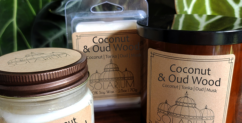 Coconut and Oud Wood