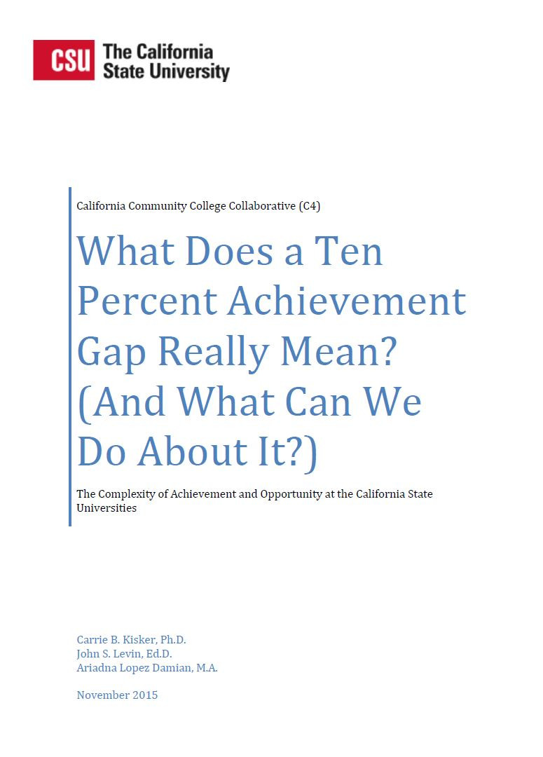What Does a Ten Percent Achievement Gap Really Mean?