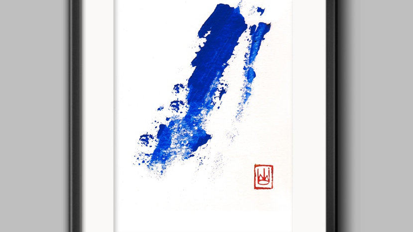 Art Print Blue Wave (M)