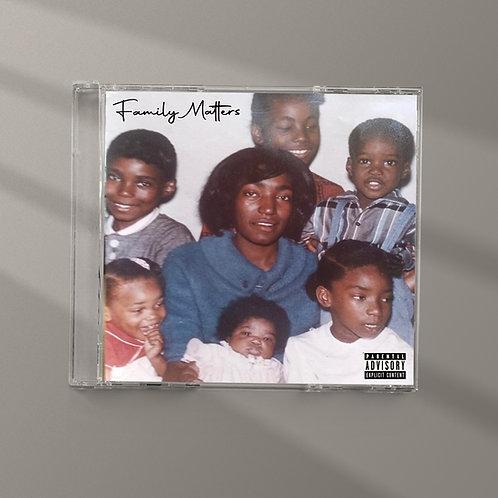 X-Raided & Luni Coleone - Family Matters CD