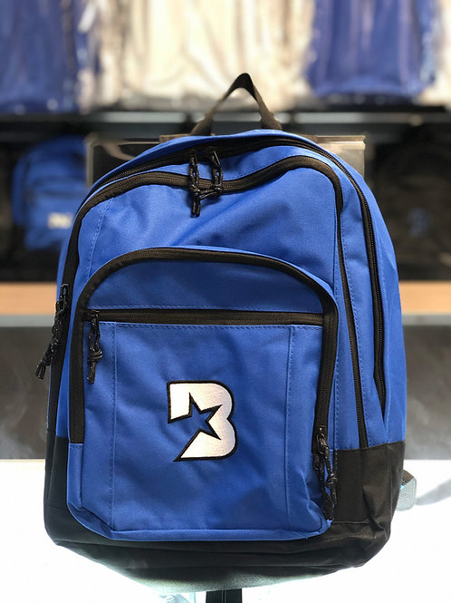 Bloc Star backpack - Blue with White and Blue