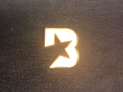 Bloc Star lapel pin