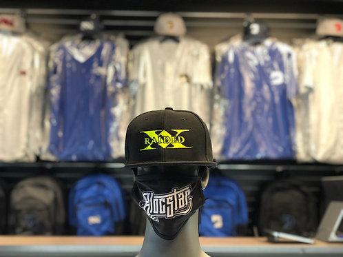 X-Raided Snapback - Black