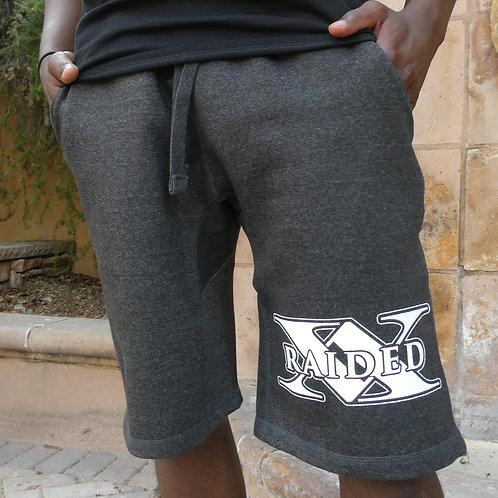 X-Raided Logo Jogger Shorts