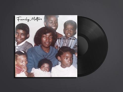 X-Raided & Luni Coleone - Family Matters Vinyl Record