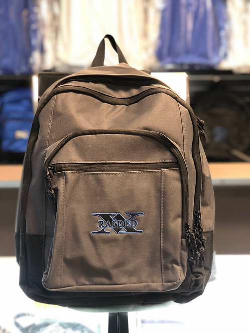 X-Raided backpack - Grey with Black and Blue