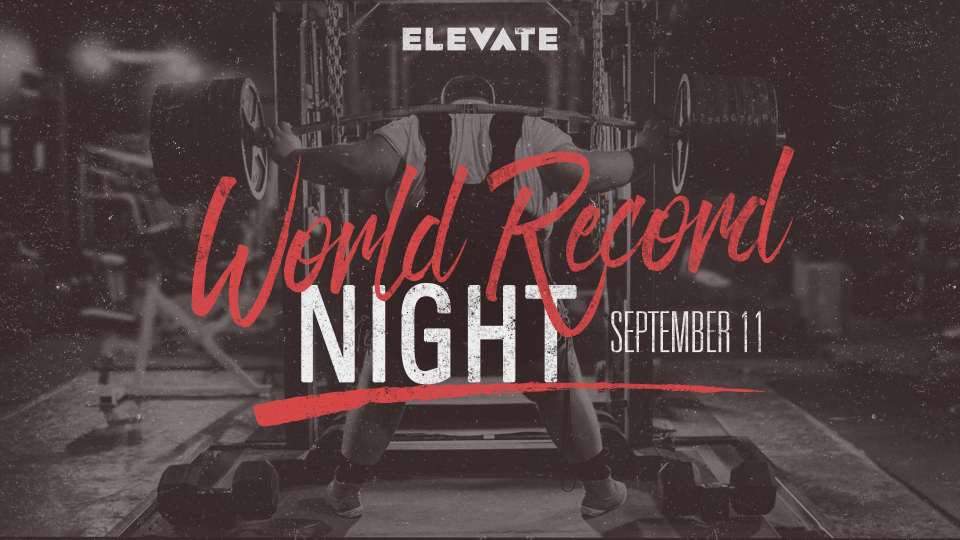 Youth Outreach -- World Record Night