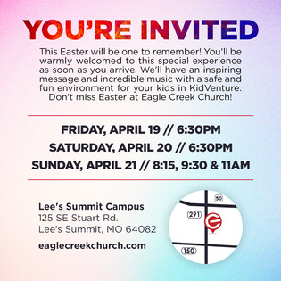 Easter 2019 Invite back