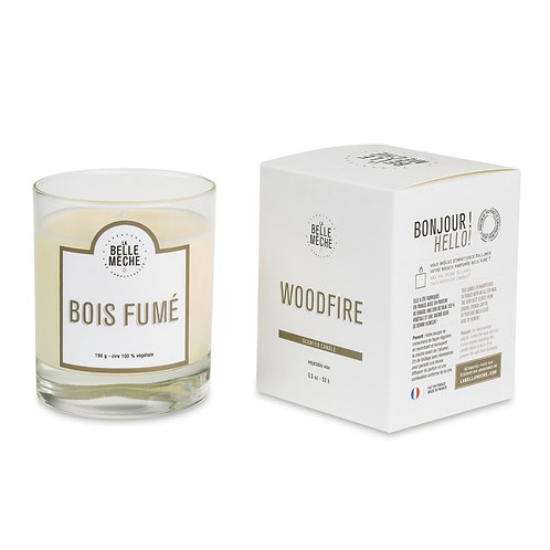 Woodfire Scented Candle