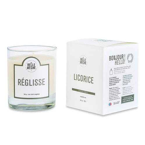Licorice Scented Candle