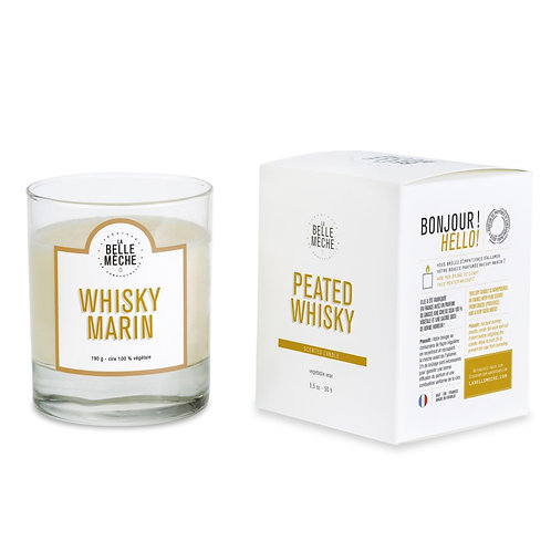 Peated Whisky Scented Candle
