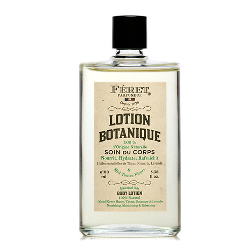 Lotion Botanique / Natural Body Lotion