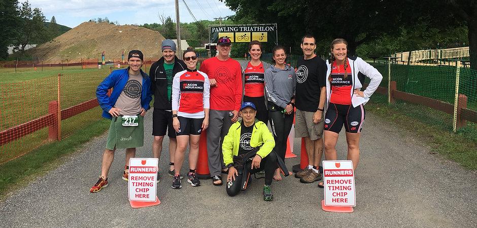 BE Teammates at Pawling Triathlon 2017