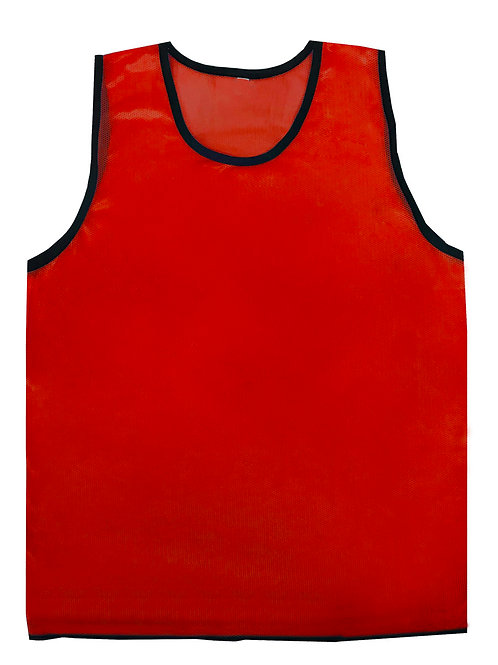 RED TRAINING VEST Youth (set of 5)