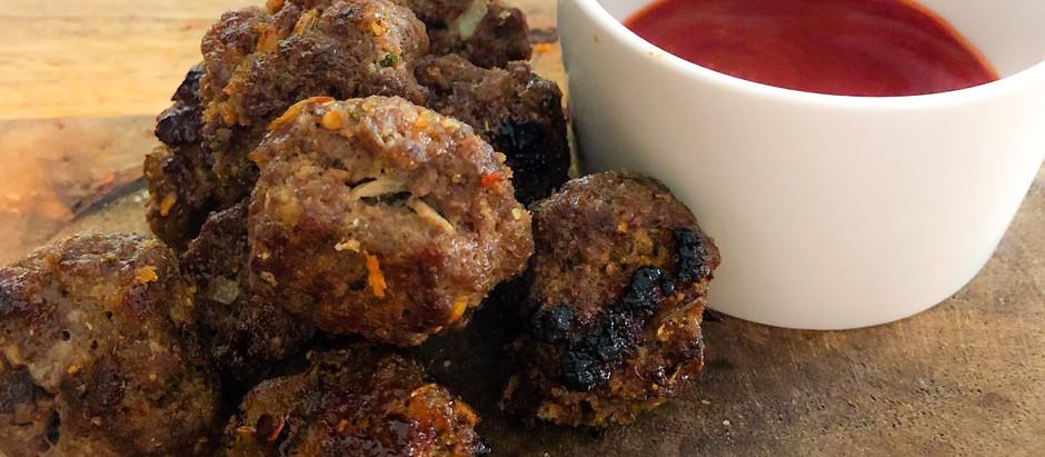 6 Ingredient BBQ Meatballs