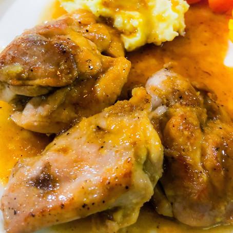 Honey Lemon & Garlic Chicken