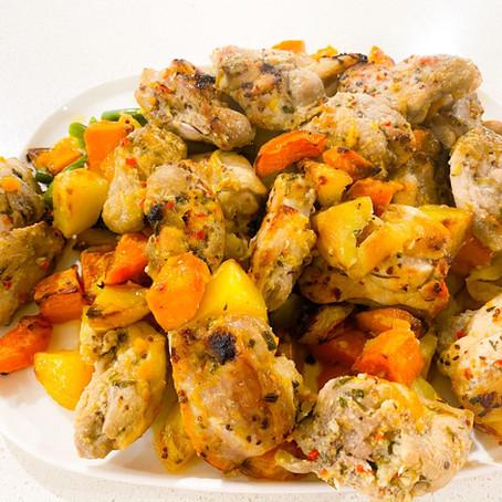 One Pan Citrus Chicken & Vegetables