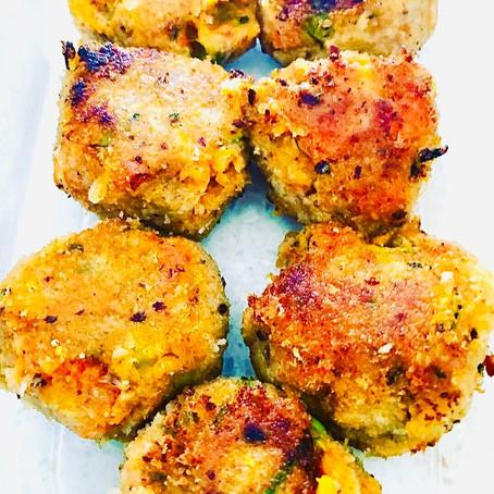 Tuna & Vegetable Mini Burgers