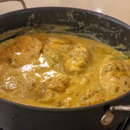 Creamy Herbed Chicken