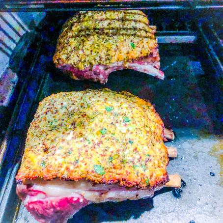 Herb Crusted Lamb Racks