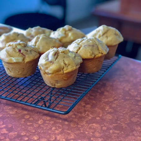 The 2P's Muffins (Plum & Pear)