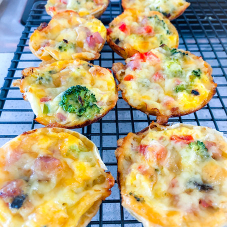 Rappin' Vegetable Quiches