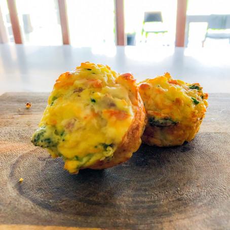 Roast Chicken & Veggie Muffins