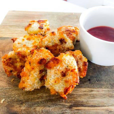 5 Ingredient Cheesy Chicken Nuggets
