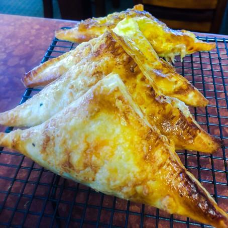 Cheesy Tuna Pies