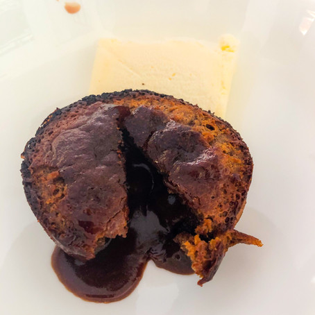 Volcanic Gooey Muffins