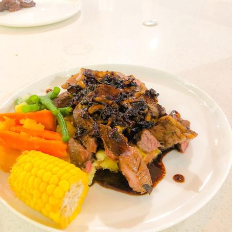 Balsamic Lamb Steaks