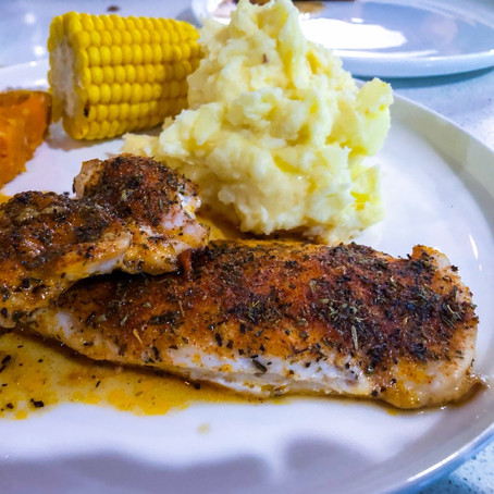 Baked Spiced Chicken