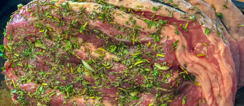Slow-Cooked Herb Roast Beef