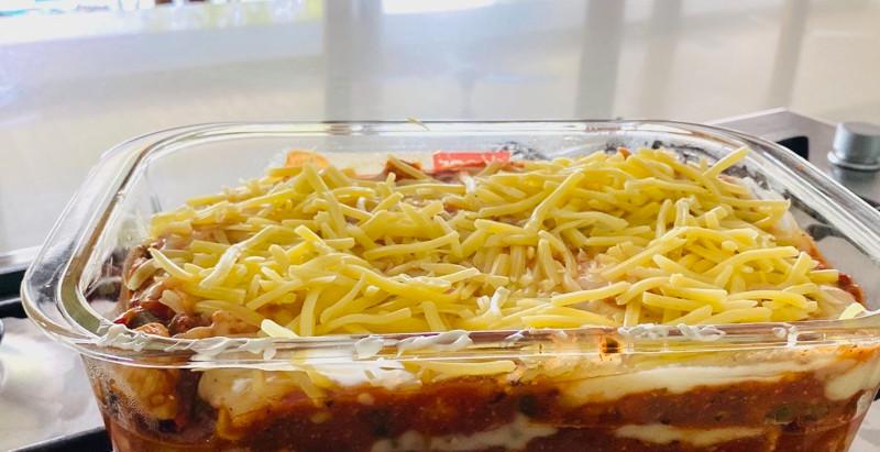Chicken & Vegetable Lasagna