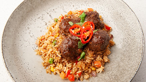 Asian Meatballs & Rice - From Family Table to the Lunchbox