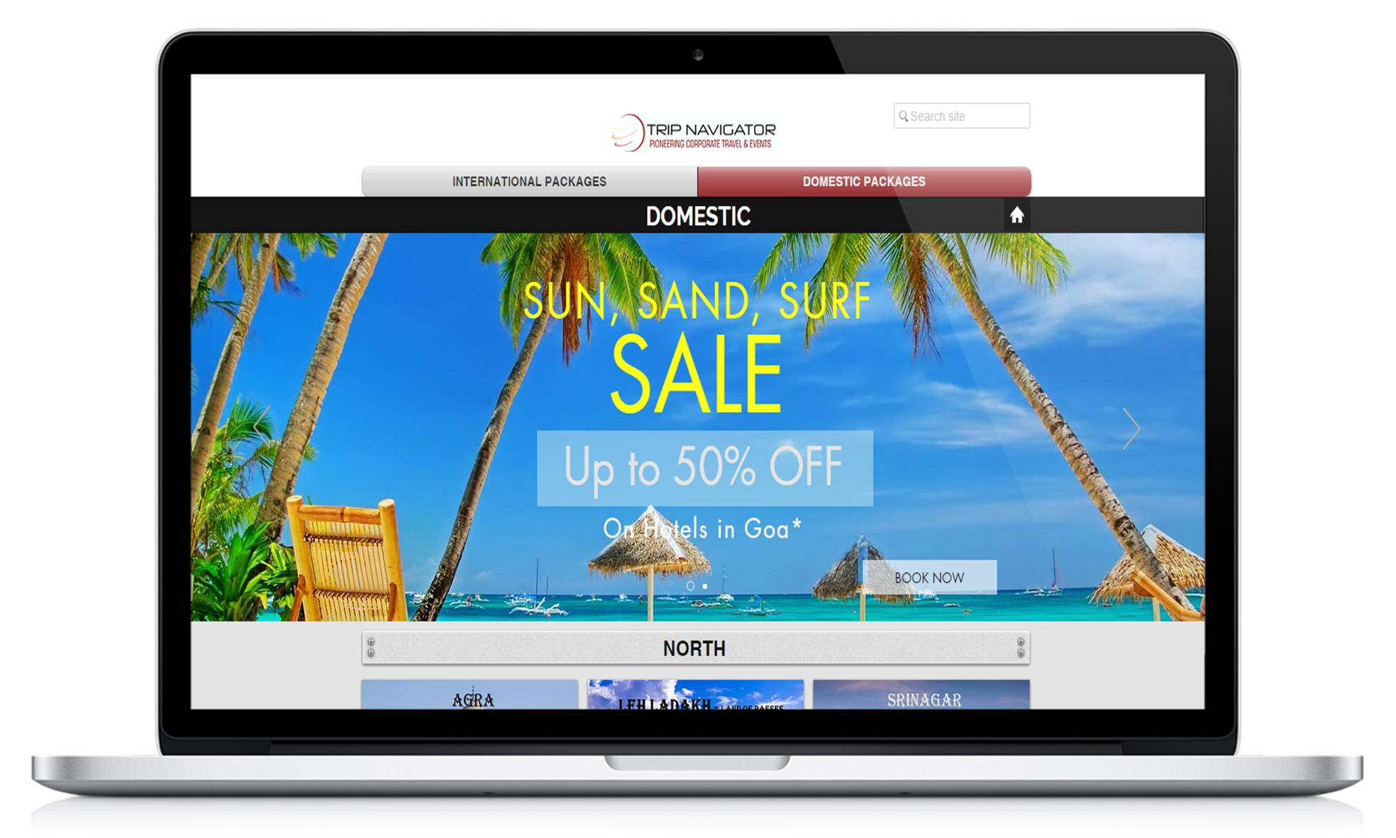 Web banner for Trip Navigator