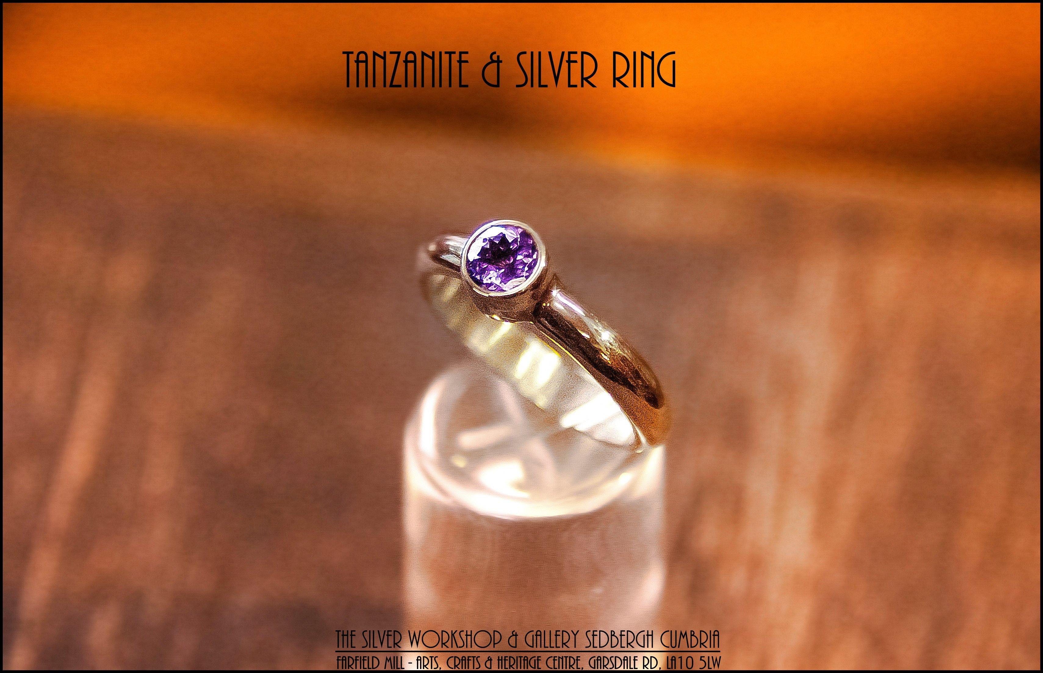 Susan Triffitt's Tanzanite ring