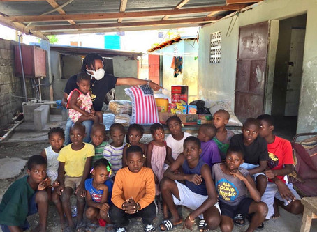 During COVID19, we still continue our mission in Haiti
