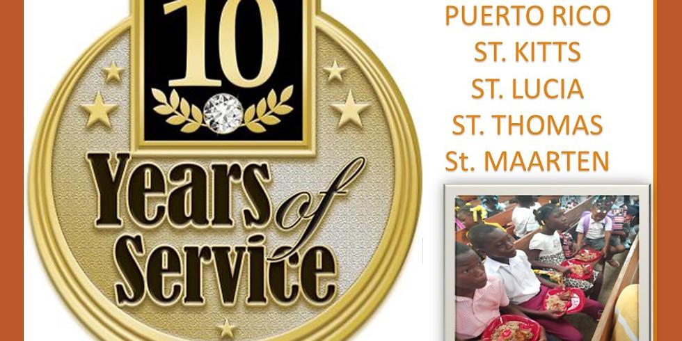 10 YEAR MISSION ANNIVERSARY TRIP