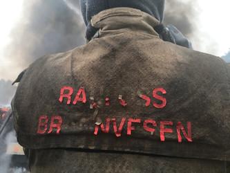 Stor brannøvelse på Raufoss