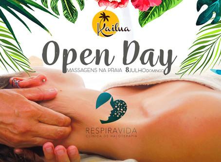 Open Day - Massagens na Praia