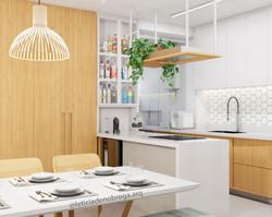 Península - cozinha