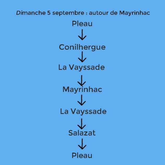 Autour de Mayrinhac