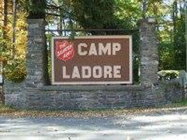 Camp Ladore Sign