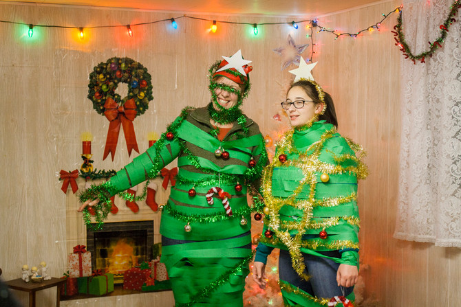 Ladies' Ugly Christmas Sweater Party